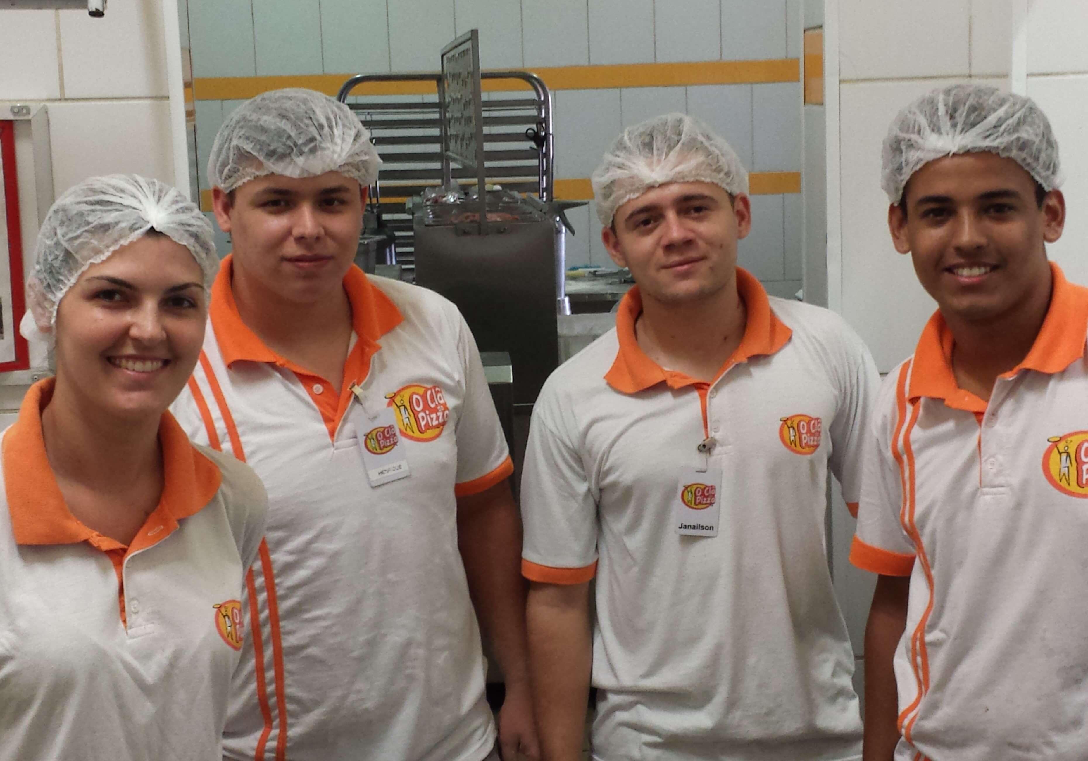equipe o clã da Pizza
