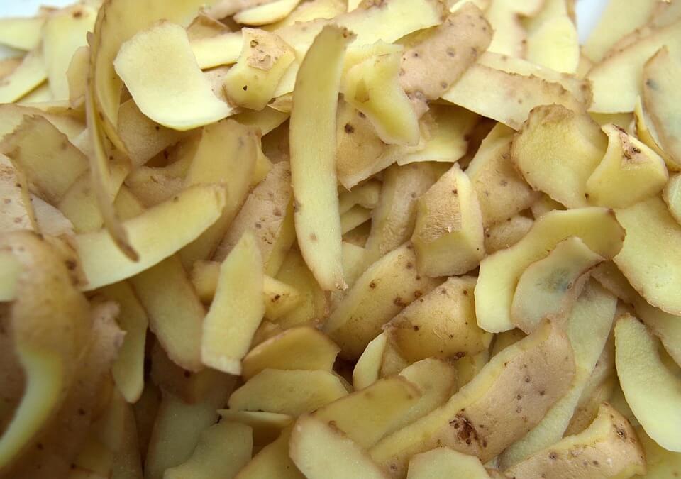 casca de batata