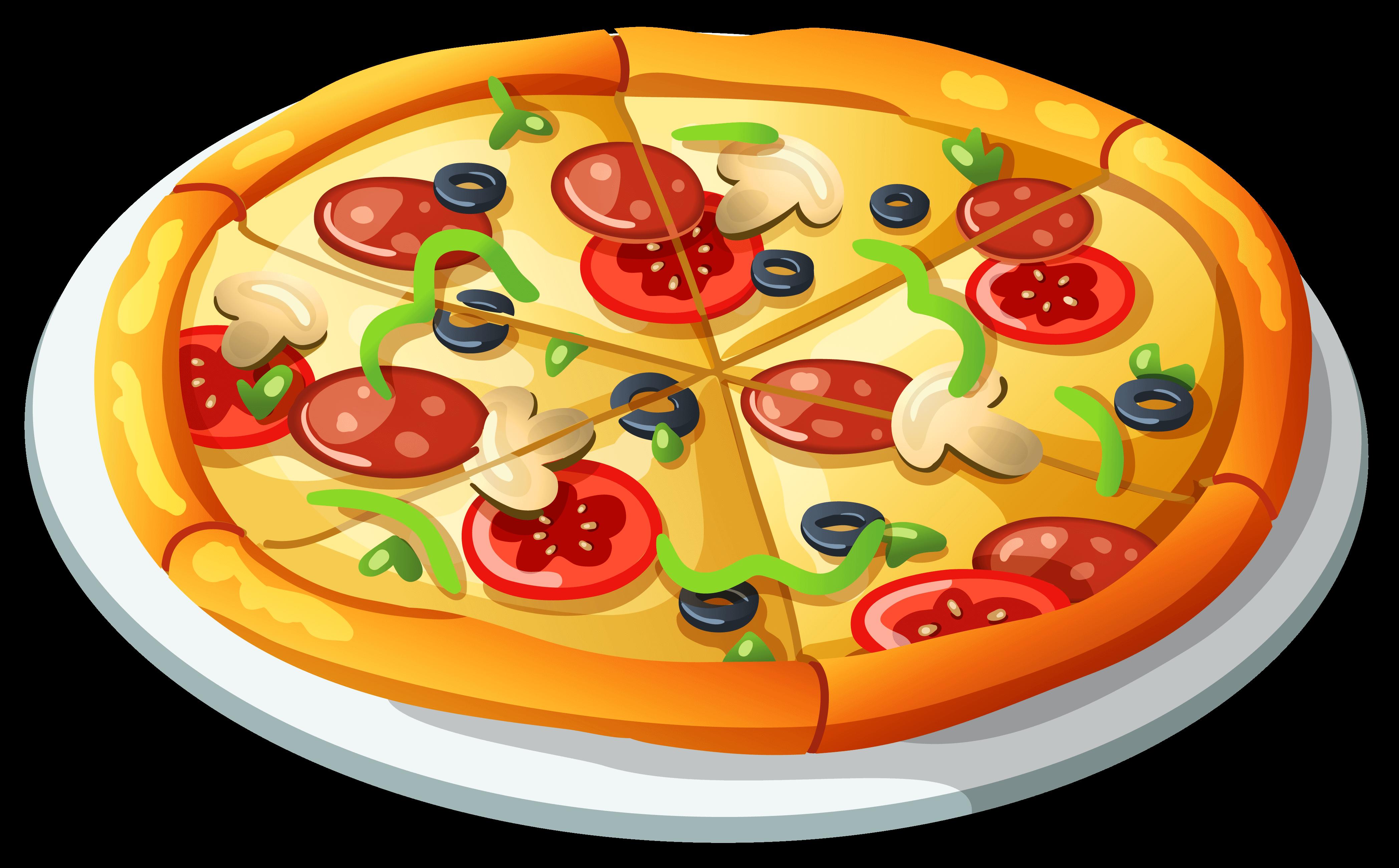pizza vetor