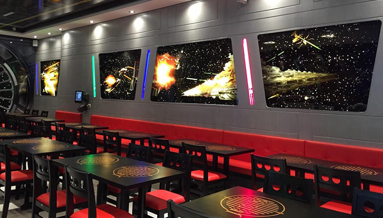 restaurante temático star wars