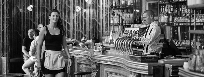 atendimento ao cliente bar