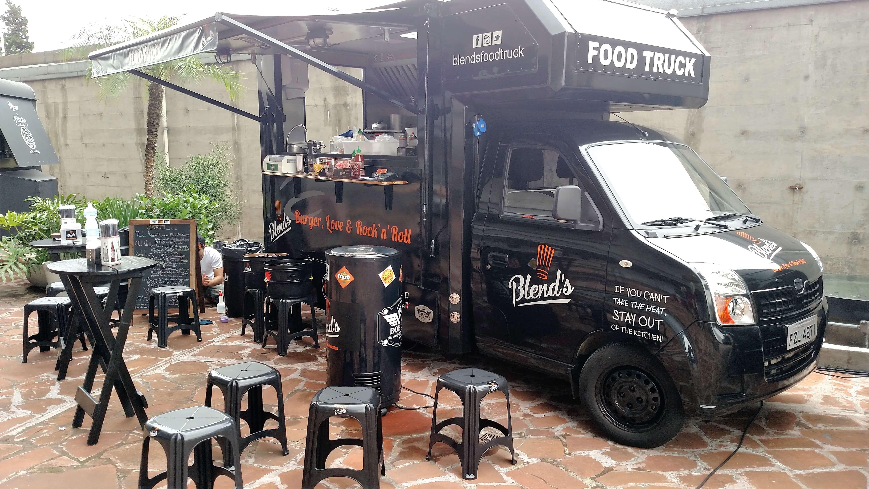 carros para food truck - blend's food truck
