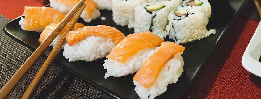 cardapio de comida japonesa