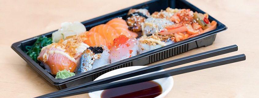 promoção de comida japonesa capa
